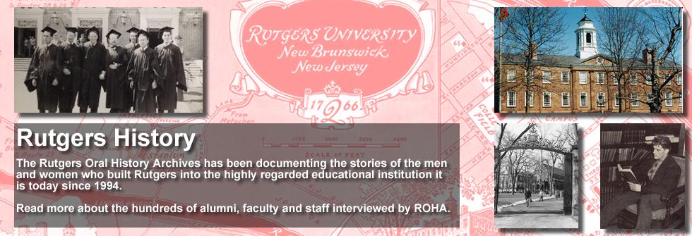 ROHA Rutgers History